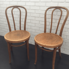 Vintage Bentwood Chairs Best Massage Office Chair Antique Thonet No 18 A Pair Chairish This Of Side Are Beautifully Worn And Very Sturdy