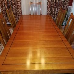 Dining Table Set 6 Chairs Awesome Camping Stickley 21st Century Collection With Mission For Sale Image 3