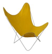 Knoll Hardoy Mid-Century Modern Iron Frame Butterfly Chair ...