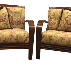 Ethan Allen Palm Grove Chair Pottery Barn Slipcover And A Half Gently Used Furniture Up To 50 Off At Chairish