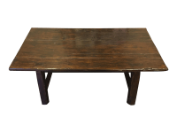 Distressed Wood Kitchen Table