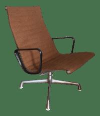 Vintage Eames Aluminum Group Chair | Chairish