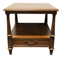 Henredon Mid Century Era Neoclassical Style Side End Table ...