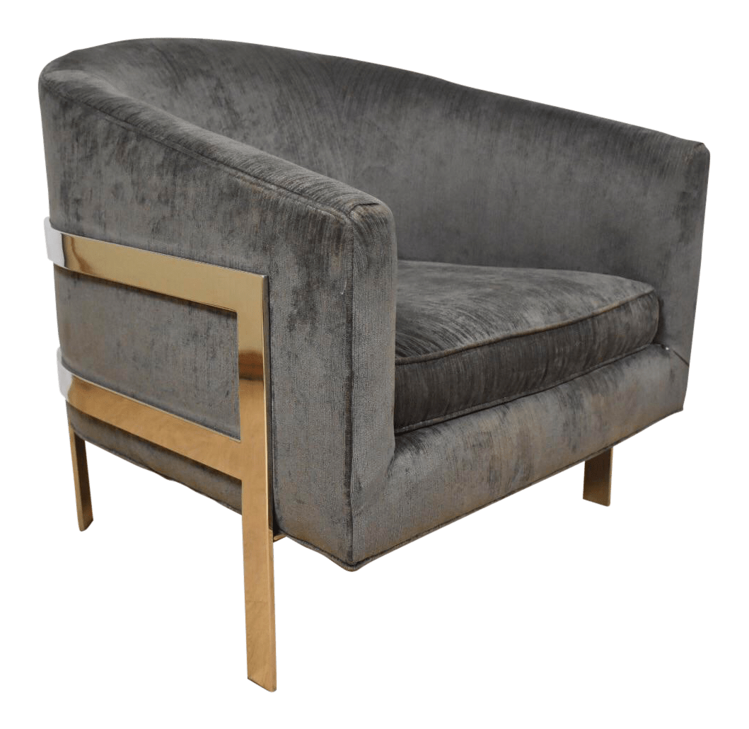 mitchell gold chairs counter height parsons chair 43 bob williams modern chrome lounge