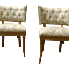 Hickory Chair Co Bjs Folding Chairs Gabrielle A Pair Chairish
