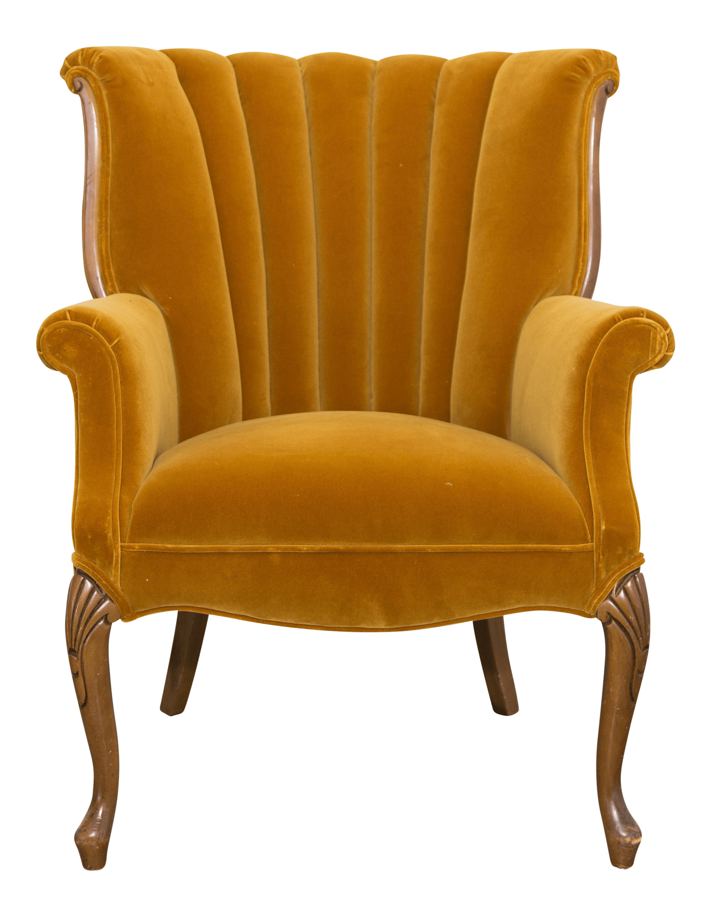 Yellow Side Chair Vintage Mustard Yellow Side Chair Chairish