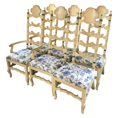Colonial Sofa Sets Martini Bed 1970 39s Dining Chairs Set Of 6 Chairish