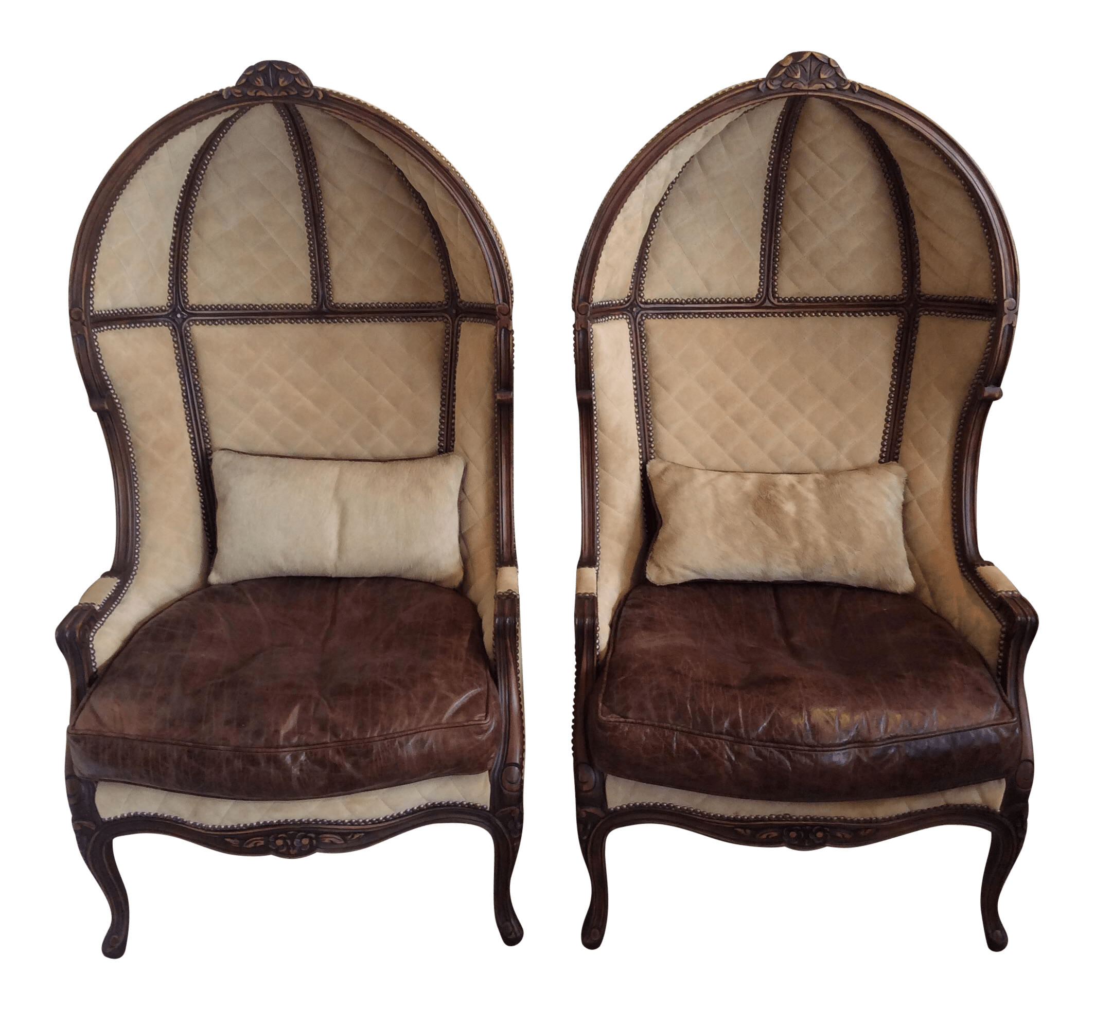 Hooded Chair Hooded Porter 39s Chairs Pair Chairish