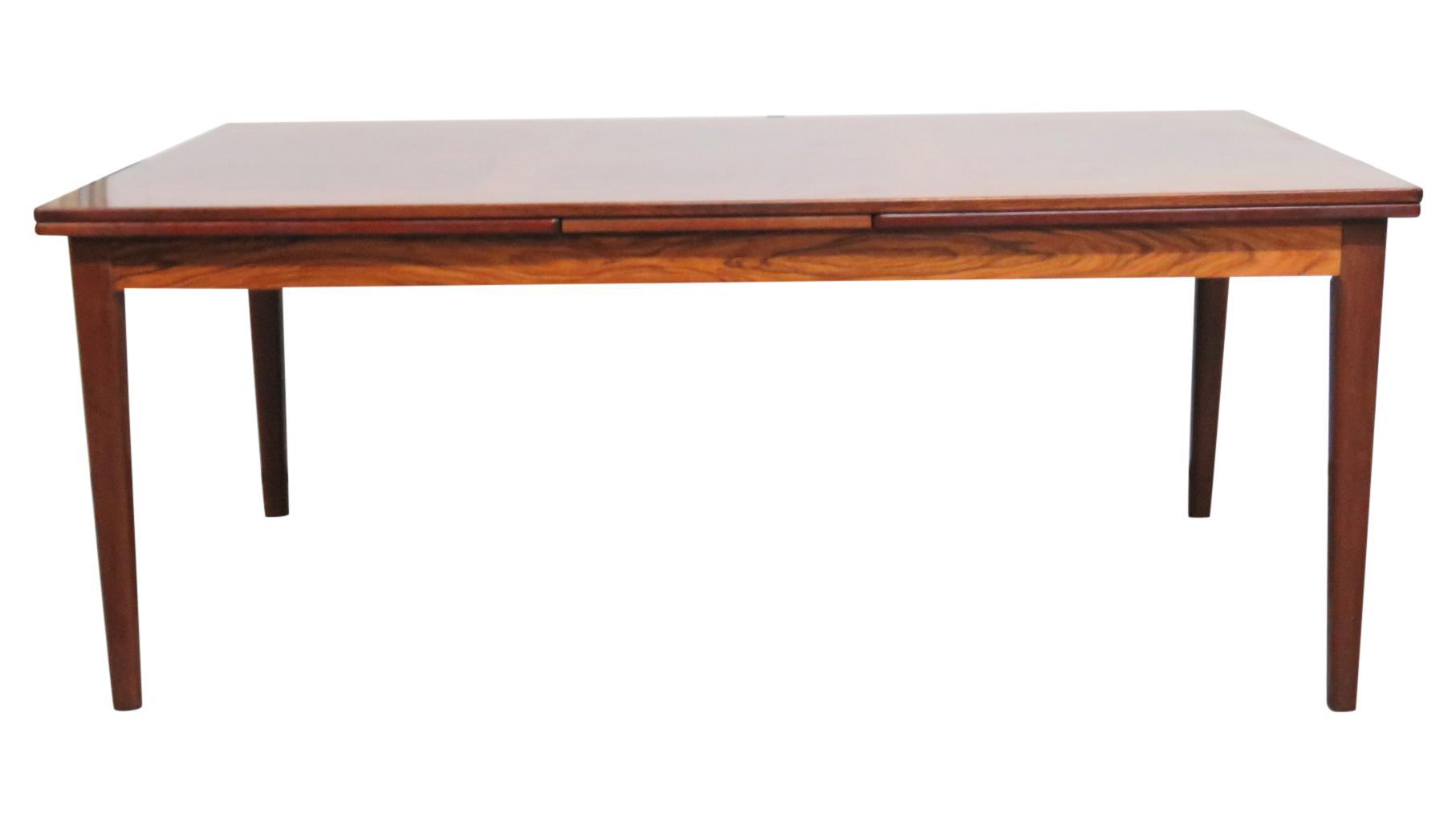 skovby rosewood dining chairs chair covers bulk mobelfabrik danish modern table