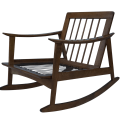Design Within Reach Rocking Chair Seaside Casual Chairs Vintage 1960s Modern Danish Style Chairish