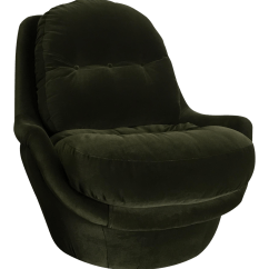 Green Velvet Swivel Chair Morris Shop Milo Baughman Chairish