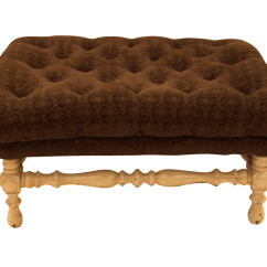 French Provincial Chair And Ottoman Height Toilet Style Chairish