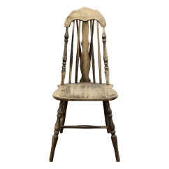 Antique Windsor Chairs Ergonomic Chair Nottingham Splat Tapered Back Chairish