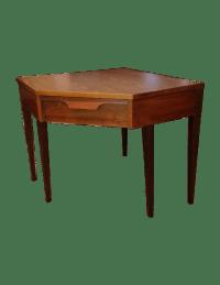 Mid-Century Modern Corner Desk | Chairish