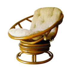 Swivel Pod Chair Lounge Chairs On Sale Mid Century Rattan Chairish