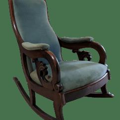 Design Within Reach Rocking Chair Glider Parts Canada Victorian Walnut Chairish