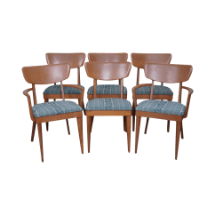 Heywood Wakefield Dining Table And Chairs Graco Duodiner High Chair Instructions Mid Century Set Of 6