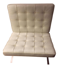 Barcelona Style Chair | Chairish