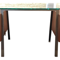 Design Within Reach Chair Walnut Cover Rentals Pensacola Fl Glass And Desk Chairish
