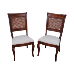 Nichols And Stone Dining Chairs Racing Chair Stand Cane A Pair Chairish