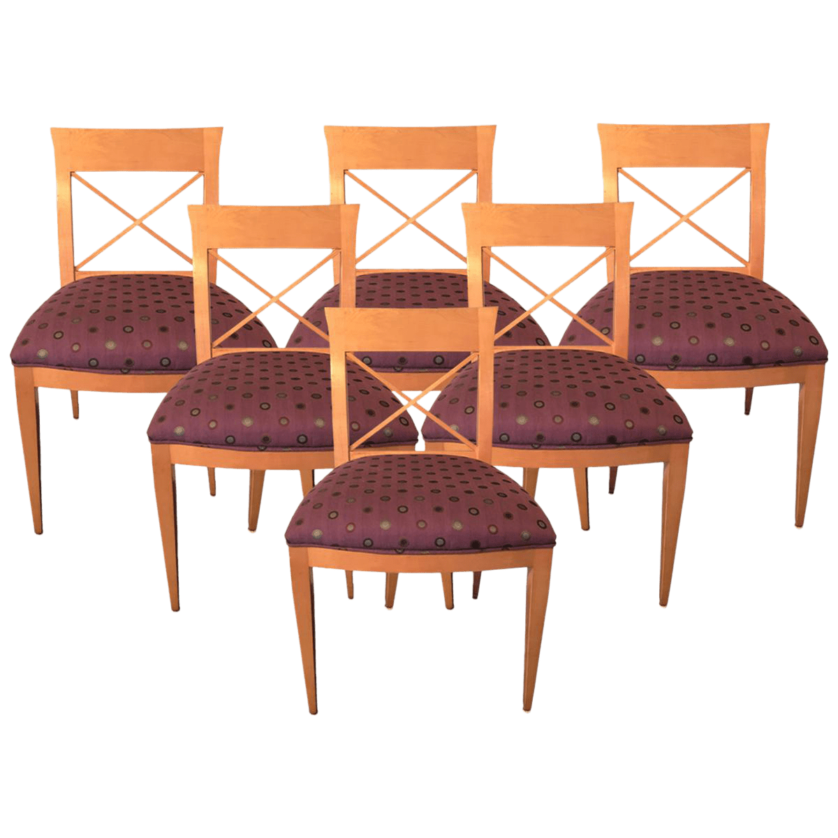Baker Dining Chairs Baker Dining Chairs Set Of 6 Chairish
