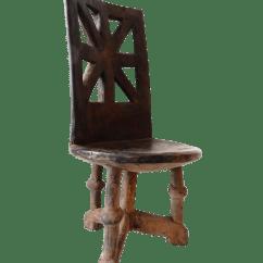 3 Legged Chair Stadium With Arms Three Tanzania Makonde Chairish