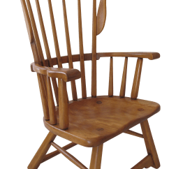Sikes Chair Company Fishing Rod Rest Furniture Co Modernist Windsor Lounge Chairish