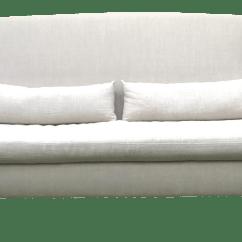 Belgian Linen Sofa Best Type Mattress Bed Verellen High Back Belgium Chairish