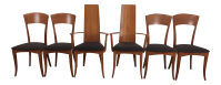 A. Sibau Italian Mid-Century Modern Dining Chairs- Set of ...