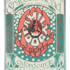 Where To Buy Outdoor Rocking Chairs Shipping A Chair Cross Country Vintage Original The Grateful Dead Concert Poster | Chairish