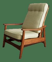 Danish Modern Mid-Century Platform Rocker/Lounge Chair ...