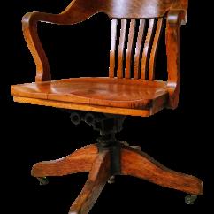 Wood Rocking Chair Parts Cheap Covers Brisbane Marble And Shattuck Oak Barrel Back Swivel Chairish