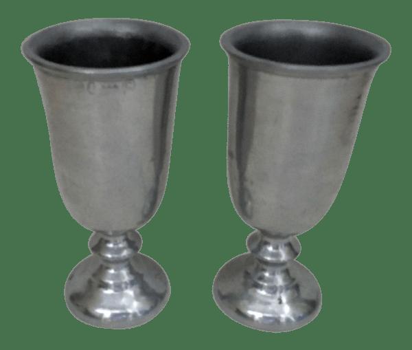 Wilton Armetale Pewter Goblets - Pair