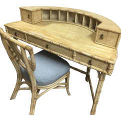 Ficks Reed Chair Salon Chairs For Sale Demilune Desk And Chairish
