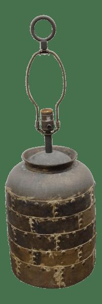 Vintage Chapman Brutalist Lamp | Chairish