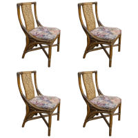 Mid-Century Sculptural Dining Chairs - Set of 4 | Chairish