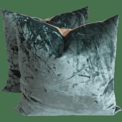 Emerald Green Velvet Chair Amazon Baby High Contemporary Pillows A Pair Chairish