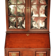 Desk Chair Utm Unique Chairs For Bedrooms Vintage Jasper Cabinet Mahogany Secretary | Chairish