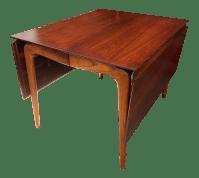 Mid-Century Modern Lane Perception Drop Leaf Dining Table ...