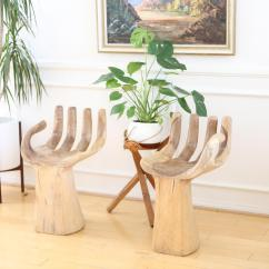 Wooden Hand Chair Bali Inmod Ball Chairs Cool Antique Cane Carved Back