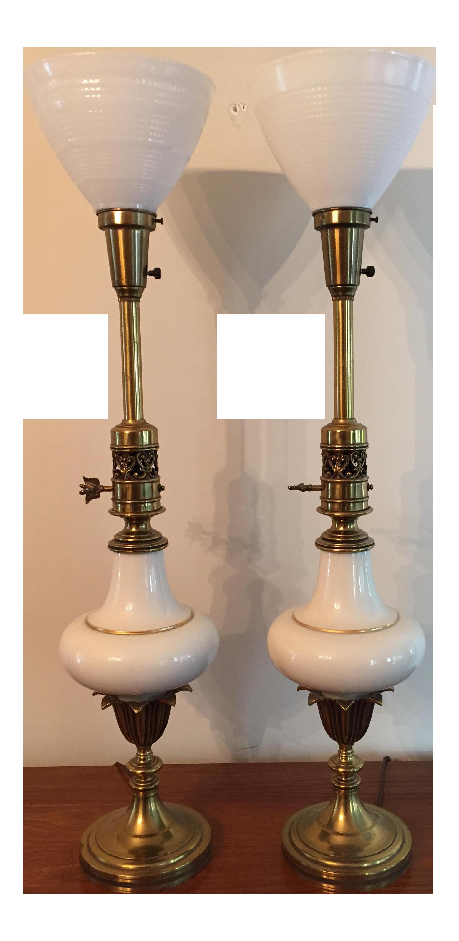 Stiffel Hollywood Regency Lamps