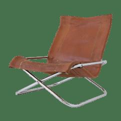Leather Sling Chairs Big Lots Lawn Sueki Uchida Chair Chairish