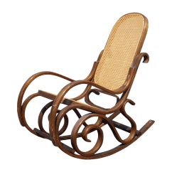 Rocking Chair Cane Wedding Covers Teesside Bentwood Back In The Style Of Michael
