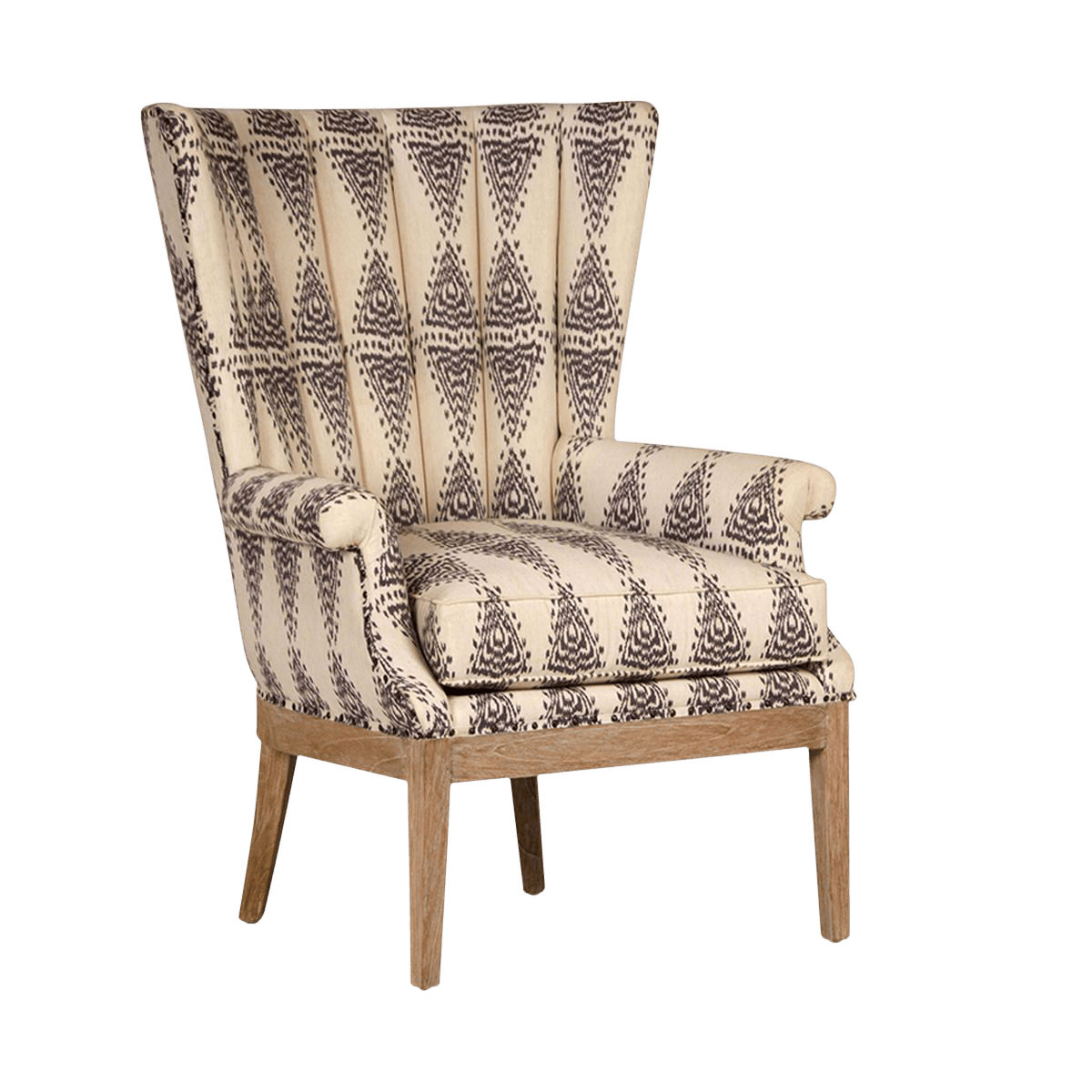 Aztec Chair Aztec Pattern Arm Chair Chairish