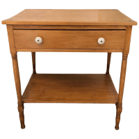 Vintage Farmhouse Side Table or Mini Dresser | Chairish