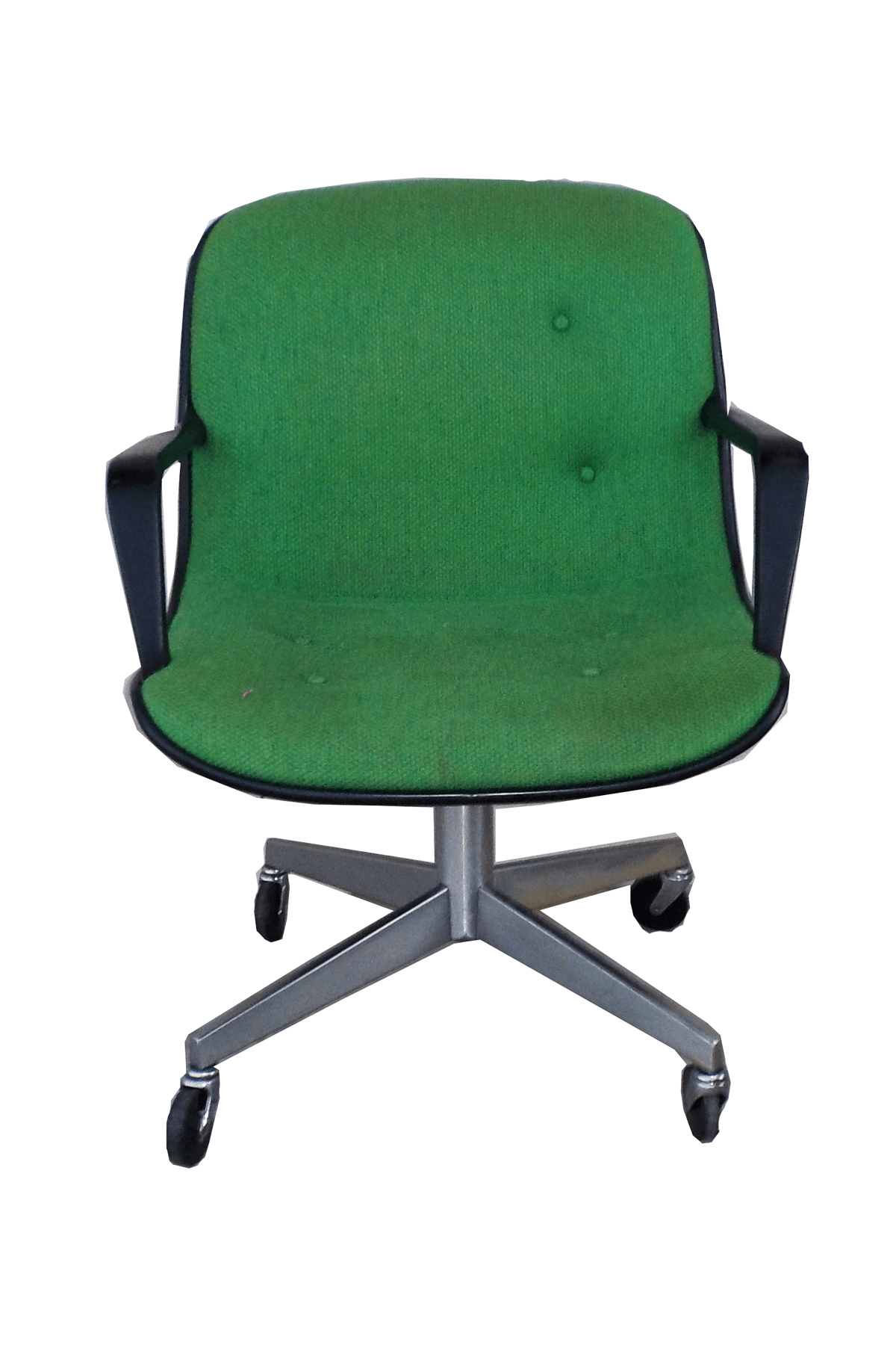 steelcase vintage chair cheap lounge chairs for bedroom mid century modern green office