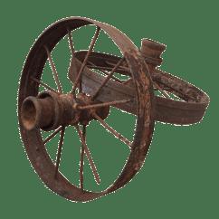 Wagon Wheel Chair Ikea Jennylund Antique Farm Wheels A Pair Chairish