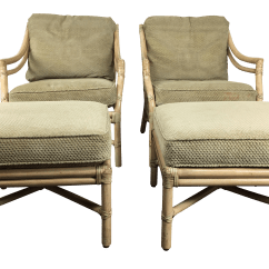 Lounge Chairs At Target Camping Heavy Duty Mcguire Back With Ottomans Chairish