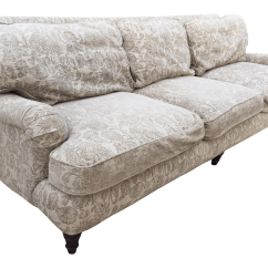 English Roll Arm Sofa Simply Sofas Bernhardt Rolled Chairish