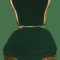Emerald Green Velvet Chair Office Plastic Mat Antique Side Chairish